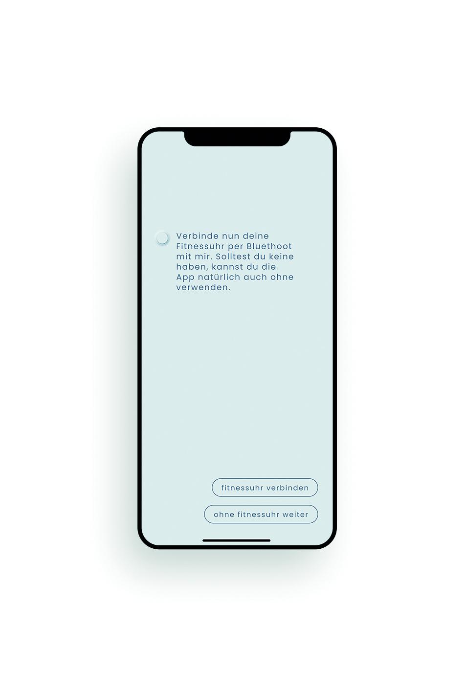 Screendesign App YOU