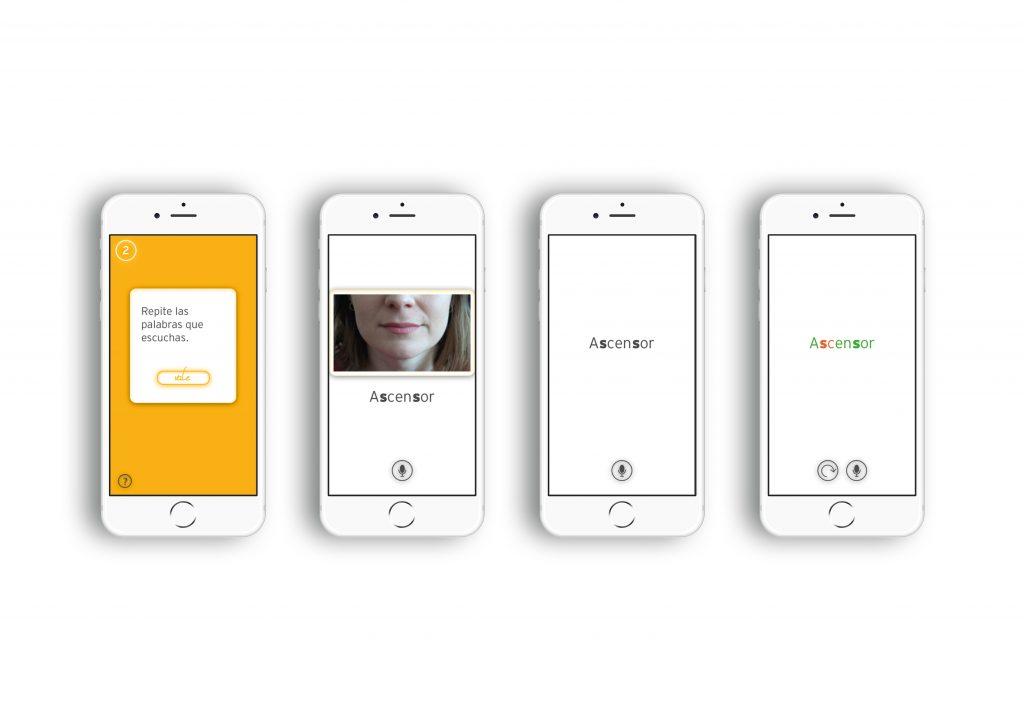Screendesigns der SchülerInnen der App WID